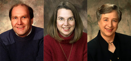 Stephen Karlson, Mary Beth Henning and Joanne Dempsey