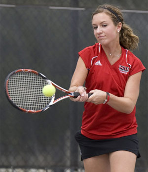 NIU women's tennis