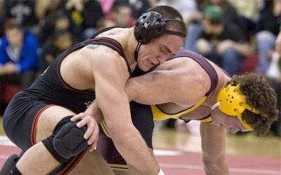 NIU Huskie wrestling