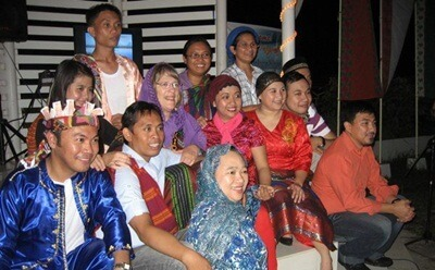 NIU anthropologist Susan Russell (center) was honored in the Philippines by being made a member of the indigenous Manobo tribe.