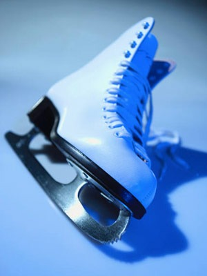 Photo of an ice skate