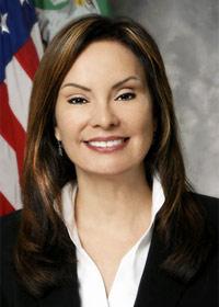 Rosie Rios, treasurer of the United States
