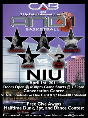 And 1 poster
