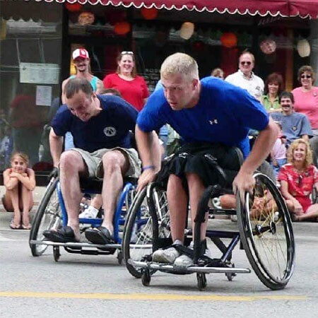 Rockford Chariots wheelchair basketball