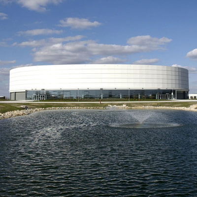 Photo of the NIU Convocation Center