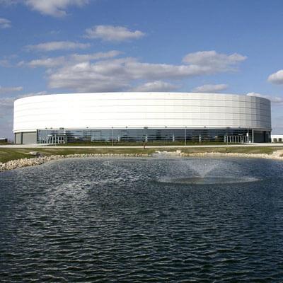 Photo of the NIU Convocation Center