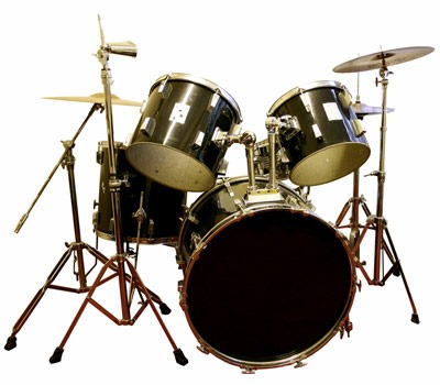 Photo of drum set
