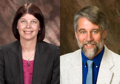 Lisa Freeman and Dan Gebo