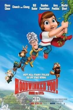 "Movie poster for ""Hoodwinked Too: Hood vs. Evil"""