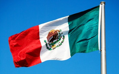 Photo of Mexican flag