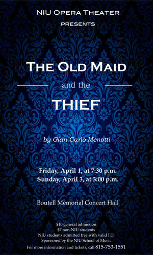 """Poster for """"The Old Man and the Thief"""""""