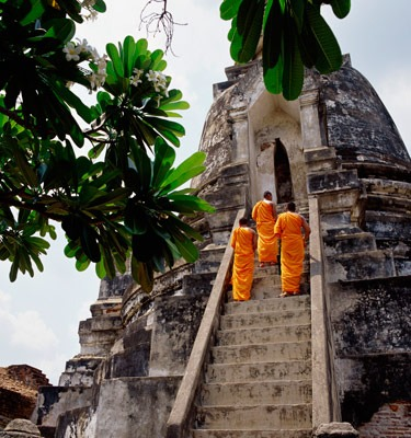 Photo of Buddhist temple in Thailand