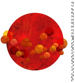 """""""Red Circle"""" by Theresa Sauer"""