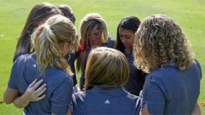 NIU women's golf team