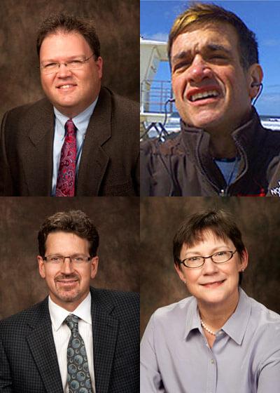 The 2011 winners: Michael Konen, Michael Morris, Brendon Swedlow and Jeanne Jakubowski