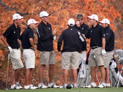 NIU Huskies men's golf team