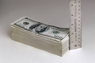 Money & ruler