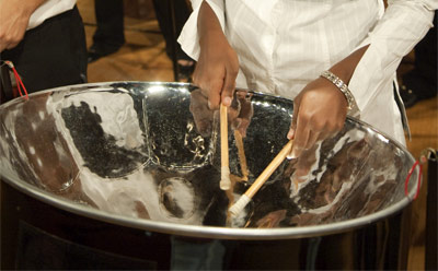 Photo of a steelpan