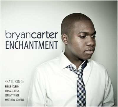 "Bryan Carter ""Enchantment"" CD cover art"