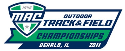 Logo of the 2011 MAC Outdoor Track & Field Championships