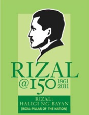 Logo of RIZAL@150