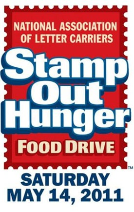 Logo of the National Association of Letter Carriers Stamp Out Hunger Food Drive