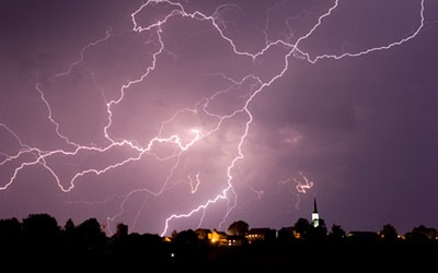 Photo of a storm