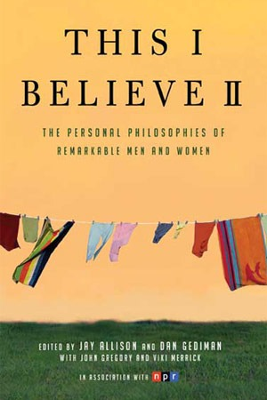 "Book cover of ""This I Believe II"""