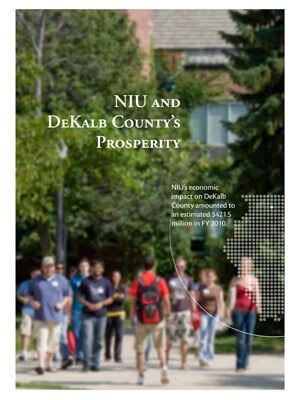 NIU and DeKalb County's Prosperity supplement report cover