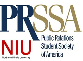 Logo of the NIU chapter of the Public Relations Student Society of America