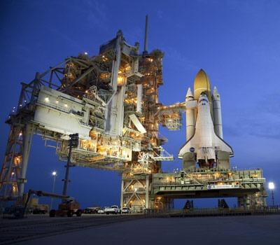 NASA image of the Space Shuttle Atlantis
