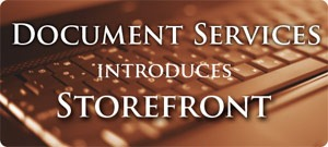 Document Services introduces Storefront
