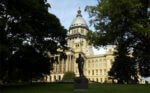 Illinois State Capitol building in Springfield. Photo courtesy Illinois Board of Tourism.