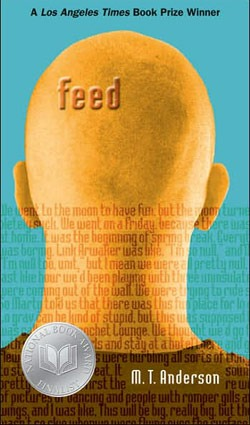 "Book cover of M.T. Anderson's ""Feed"""