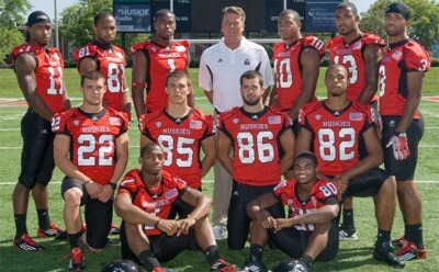 NIU Huskies football players