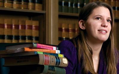 Kate Green, NIU's 2010-11 Lincoln Laureate
