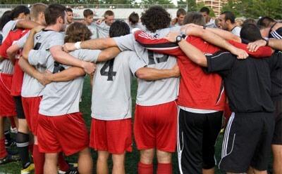 Huskies men's soccer team