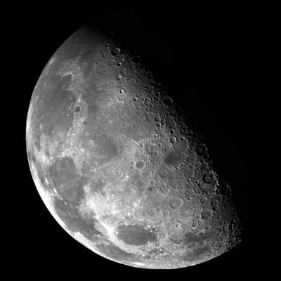 NASA image of the far side of the Moon.
