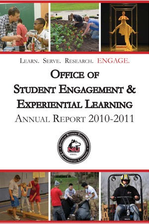 Office of Student Engagement & Experiential Learning Annual Report 2010-2011 cover