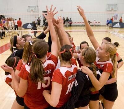NIU Huskies volleyball team