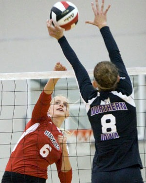Huskie volleyball