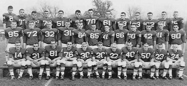 NIU Huskies football team - 1963
