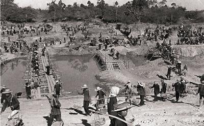 Khmer Rouge exhibit