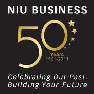 NIU Business - 50 Years - 1961-2011 - Celebrating Our Past, Building Your Future