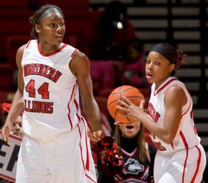 Ebony Ellis (left) and Marke Freeman
