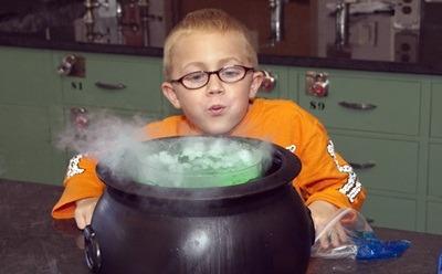 Spooky Science Cauldron