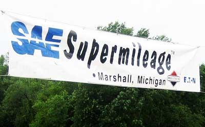 SAE Supermileage banner