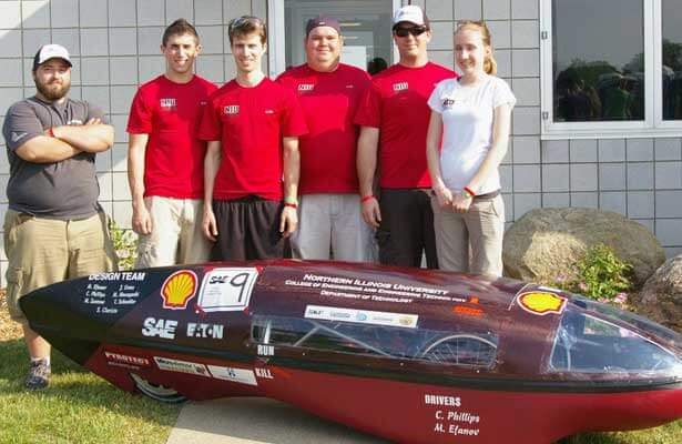 NIU's Supermileage team