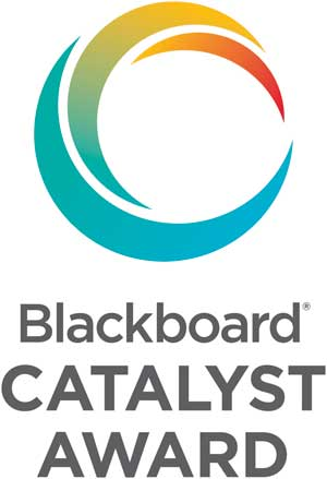 Blackboard CATALYST AWARD