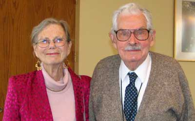 James Merritt donated his the papers of his late wife, NIU art history professor Helen Merritt, to the university's archives after her death May 12, 2009.